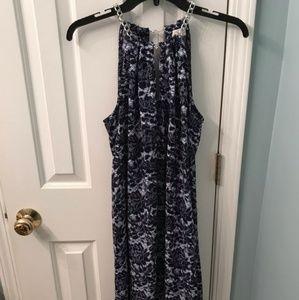 Michael Kors Chain Halter Neck Dress